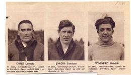 Orig Knipsel Coupure Magazine Tijdschrift - Voetbal - Spelers Berchem Sport - Dries, Joacim, Woestad - 1931 - Unclassified
