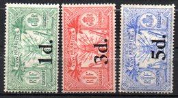 Col17  Colonie Nouvelles Hebrides N° 77 à 79  Neuf X MH  Cote 37,00€ - Unused Stamps