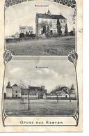 Raeren - Gruss Aus Raeren - Multi-Vues - Marienhospital/Knoppenburg - Ph: Gerh. Mertens Aachen - Circulé - Etat: 2 Scans - Raeren