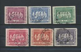 BELGISCH CONGO BELGE -1958  Série Rois     Timbres Oblitérés - Congo Belge