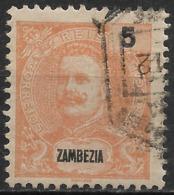 Zambezia – 1898 King Carlos 5 Réis - Zambèze