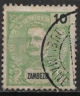Zambezia – 1898 King Carlos 10 Réis - Zambèze