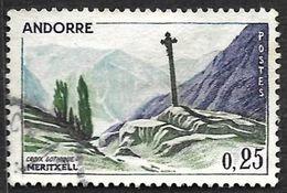 ANDORRE    1961  -  Y&T  158  -  Meritxell  - Oblitéré - Usati
