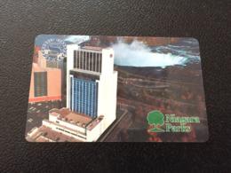 Hotelkarte Room Key Keycard Clef De Hotel Tarjeta Hotel  SHERATON FALLSVIEW NIAGARA PARKS Casino Shuttle Tickets - Télécartes