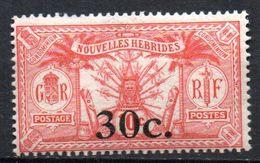 Col17  Colonie Nouvelles Hebrides N° 74  Neuf X MH  Cote 3,30€ - Unused Stamps