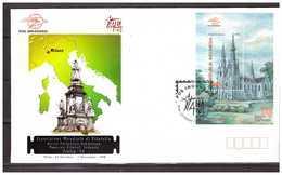 Indonesia 1998 FDC World Philatelic Exhibition Milano Italy S/S - Indonesia
