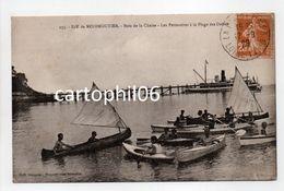 - CPA ILE DE NOIRMOUTIER (85) - Bois De La Chaize - Les Périssoires à La Plage Des Dames 1929 (belle Animation) - - Ile De Noirmoutier