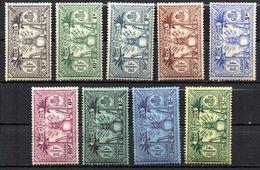 Col17  Colonie Nouvelles Hebrides N° 91 à 99  Neuf X MH  Cote 67,00€ - Unused Stamps