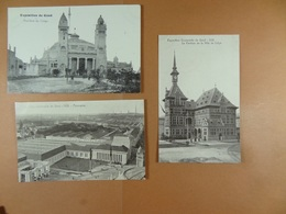 Lot De 15 CPA De L'Exposition Universelle De Gand En 1913 - Gent
