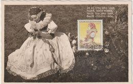 Carte-Maximum TCHECOSLOVAQUIE N°Yvert 819 (COSTUME REGIONAL) Obl Sp 1955 - FDC