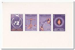 Paraguay 1960, Postfris MNH, Human Rights - Paraguay