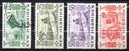 Col17  Colonie Nouvelles Hebrides N° 155 159 162 & 165  Oblitéré  Cote 38,30€ - French Legend