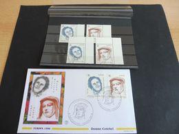 Vatikan, Mi. Nr. 1179-80 **/o, Plus FDC - Unused Stamps