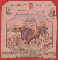 Protége Cahier Ancien Fin XIXéme  Dep De Vaucluse(Bataille Du Rhone; Eléphant );Raspail ; De Girard ;Avignon ;Carpentras - Book Covers