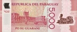 PARAGUAY P. 234a 5000 G 2011 UNC - Paraguay