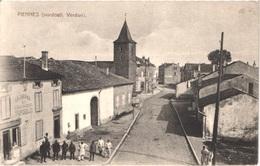 FR54 PIENNES - Près De VERDUN - Animée -belle - Sonstige Gemeinden