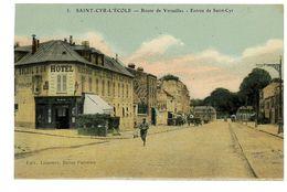 CPA 78 ST-CYR-L ECOLE ROUTE DE VERSAILLES ENTREE DE ST-CYR - St. Cyr L'Ecole