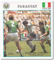 Paraguay 1989, Postfris MNH, Football - Paraguay