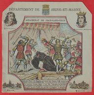 Protége Cahier Ancien Fin XIXéme; Dep De La Seine-et-Marne;(Assassinat Jean-sans-Peur);Louis XIII ; Philippe-Auguste - Book Covers