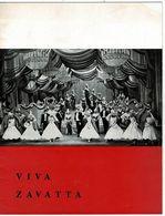 """1959 Programme Au Théâtre De L'Etoile Intitulé """" VIVA ZAVATTA"""" 12 Pages. 21/26cm - Programmes"""