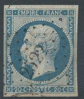 Lot N°55734   N°14A, Oblit PC 2522 Pont-St-Pierre, Eure (26), Ind 6, Belles Marges - 1853-1860 Napoléon III