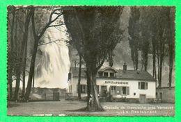 CPA SUISSE VS  ~  VERNAYAZ  ~  Cascade De Pissevache - Le Restaurant  ( Sté Graphique 1938 )  2 Scans - VS Valais