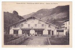 74 Pratz Praz Sur Arly Vers Megève Chalet Des Sapins VOIR ZOOM Café Restaurant Epicerie Et DOS Pension Famille Tél 7 - Megève