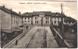 FR54 PIENNES - Mairie - Deutsches Lazarett - Animée -belle - Sonstige Gemeinden