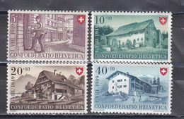 Switzerland 1949 - Pro Patria, Mi-Nr. 525/28, MNH** - Neufs