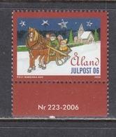Aland 2006 - Christmas, Mi-Nr. 273, MNH** - Aland