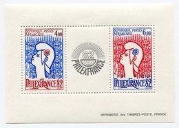 RC 11924 FRANCE BF N° 8 PHILEXFRANCE 82 BLOC FEUILLET NEUF ** A LA FACIALE - Ongebruikt