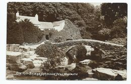 Northumberland  Postcard Old Mill Bridge Jesmond Dene  Newcastle Unused Rp - Newcastle-upon-Tyne