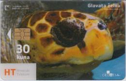 Kroatien - Croatia 390 - Under Water (Transparent Card) Fish - Kroatië