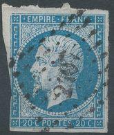 Lot N°55736   N°14A, Oblit PC 2407 Perpignan, Pyrénées-Orientales (65) - 1853-1860 Napoléon III