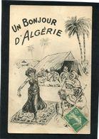 CPA - Illustration - Un Bonjour D'ALGERIE - Algérie