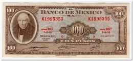 MEXICO,100 PESOS,1971,P.61f,VF+ - Messico