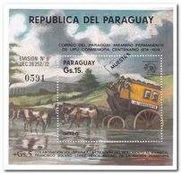 Paraguay 1974, Postfris MNH, 100 Years UPU ( Muestra ) - Paraguay