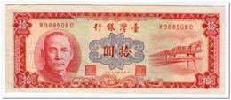 TAIWAN,10 YUAN,1960.P.1970,XF - Taiwan