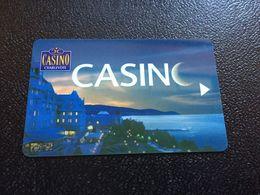 Hotelkarte Room Key Keycard Clef De Hotel Tarjeta Hotel  CASINO CHARLEVOIX CANADA  FAIRMONT - Télécartes