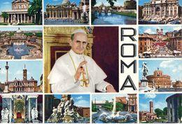 Rome Pape Paul 6 - Autres Monuments, édifices