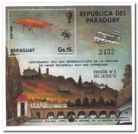 Paraguay 1974, Postfris MNH, 100 Years UPU - Paraguay