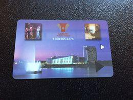 Hotelkarte Room Key Keycard Clef De Hotel Tarjeta Hotel  CASINO LAC LEAMY - Télécartes