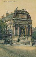 PARIS - N° 1 - FONTAINE ST MICHEL (COLLECTION BANANIA EXQUIS DEJEUNER SUCRE) - District 06