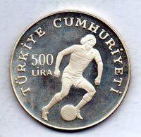 TURKEY, 500 Lira, Silver, Year 1982, KM #952 - Turchia