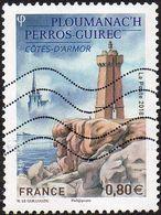 France Oblitération Moderne N° 5244 Ploumanac'h - Perros-Guirec Côtes D'Armor - Phare - France