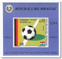 Paraguay 1974, Postfris MNH, Football - Paraguay