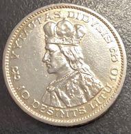 MONEDA DE 10 LITUS AÑO 1936 - Lituanie