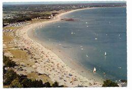 Ile Tudy- La Grande Plage Vers Sainte Marine - Cliché Aérien - Ile Tudy
