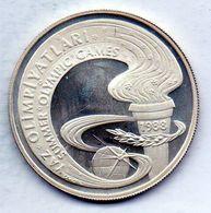 TURKEY, 10.000 Lira, Silver, Year 1988, KM #984 - Turchia