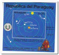 Paraguay 1974, Postfris MNH, 100 Years UPU, Planets - Paraguay